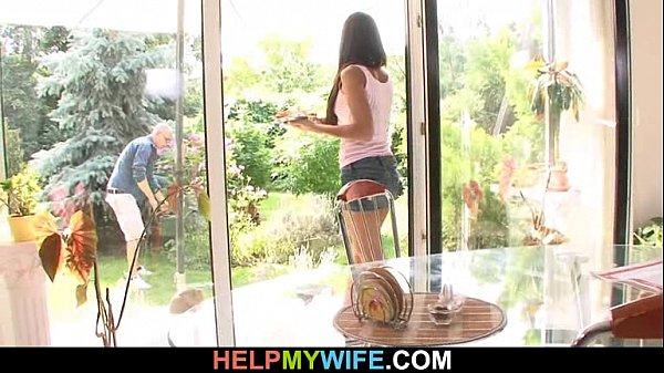 Видео муж с женой в постели