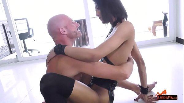 Ladyboy Aris Ass Fucked
