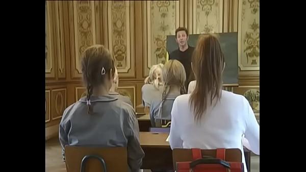 School Girls Classic Movie || Round Ass Schoolgirls fucked Doggy-style in Skirt