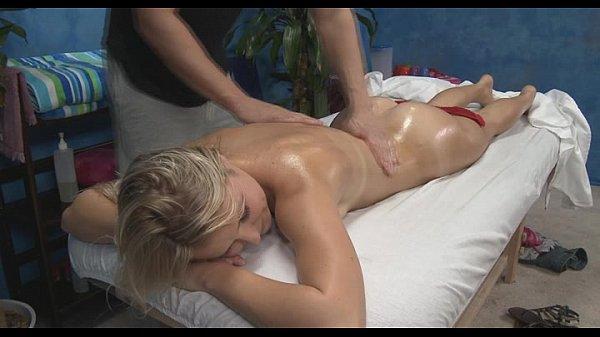 Blond bend over porn