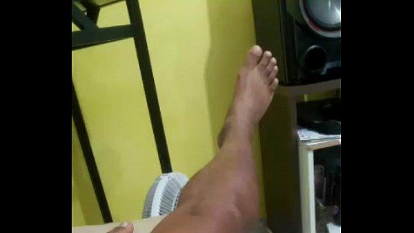 Periscope do negão Ronaldo carioca na punheta.