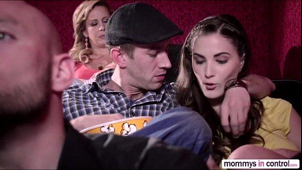 Threesome movie milf