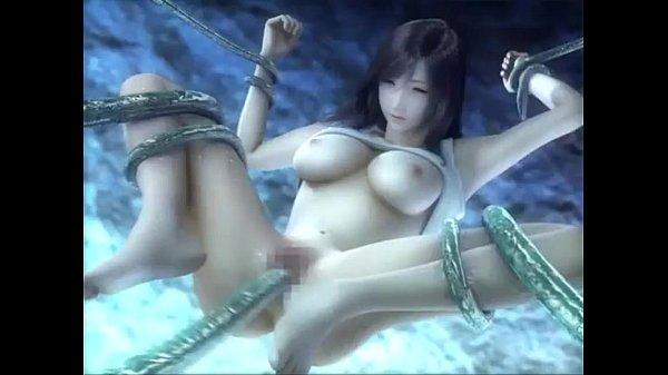 fucks tentacles Tifa