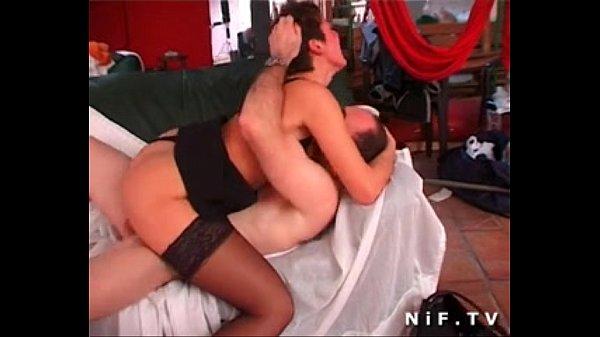 Порно видео кончил тёте в пизду