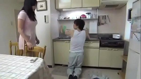 Nice Japanese girl fucks the plumber