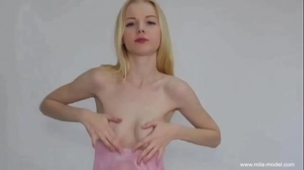Non Nude Models: Handbra Hand Bra Mila Covering Nipples With Hands