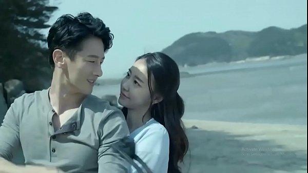 韓國帥哥美女在沙灘上幹起來了