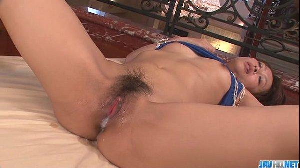 Maika gives a japan girl blowjob and fucks two guys