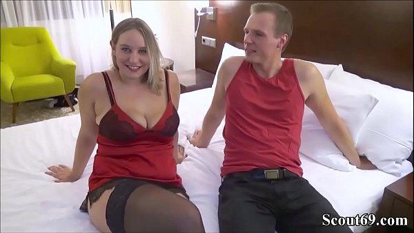 SexyLina das erste mal mit einem User von Scout69 gefickt - First Time User-Date for German Amateur Teen BBW and Facial