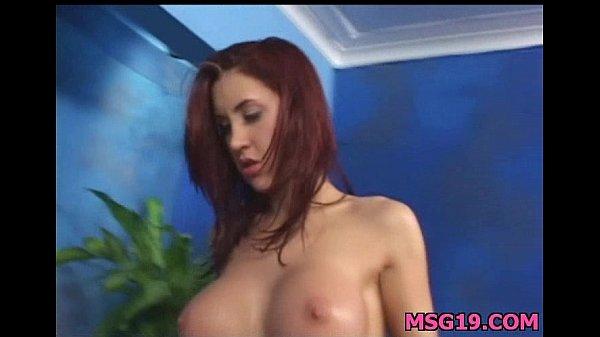Sexy 18 year old slut gets fucked hard