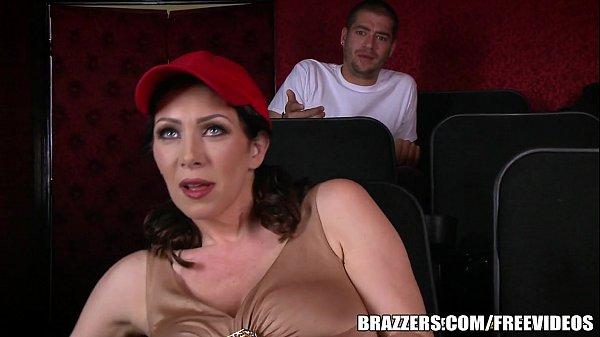 Milf action at porn cinema