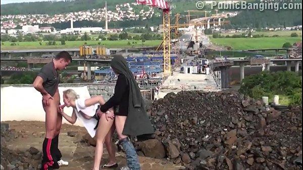 Страсный секс в троем видео