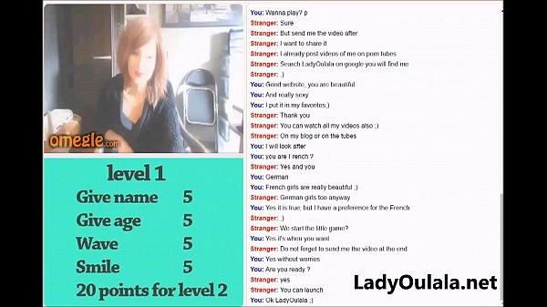 LadyOulala Playing Omegle SexGame