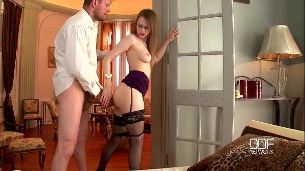 DDFnetwork – Absolute Slovakian goddess devours a Monster cock