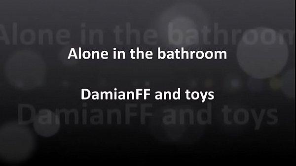 DamianFF- Alone in the bathroom