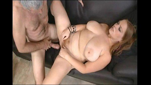 Big Tit Hairy Redhead Sierra Fucks Old Man