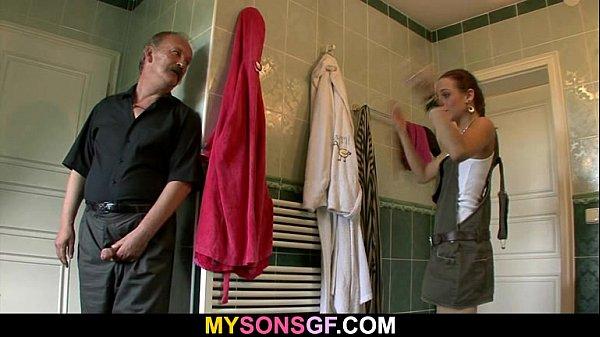 Отец сына трахает невесту сына