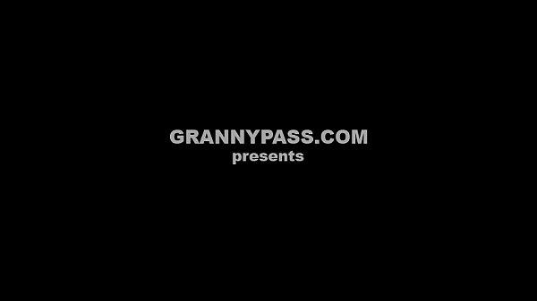 Секс с рыжей бабушкой