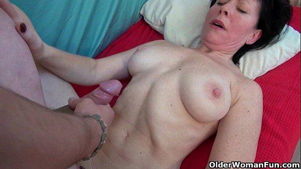 Русский порно толстые зрелые женщина и пацан