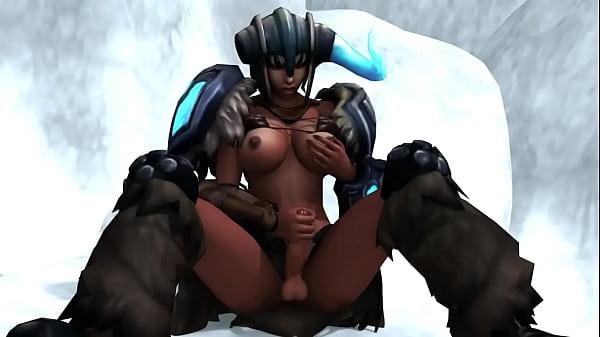 Порно видео фантастика футанари