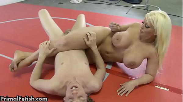 Wrestling Babes Dominate the Men