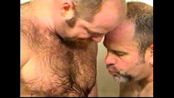 Gay matures shower
