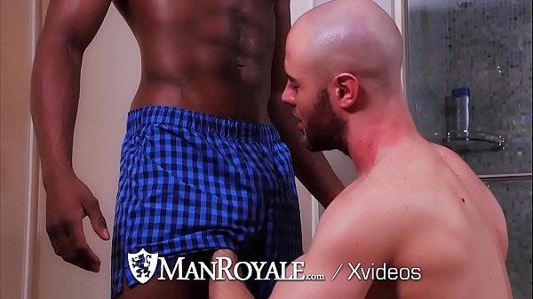 Manroyale interracial dick sucking ass eaters