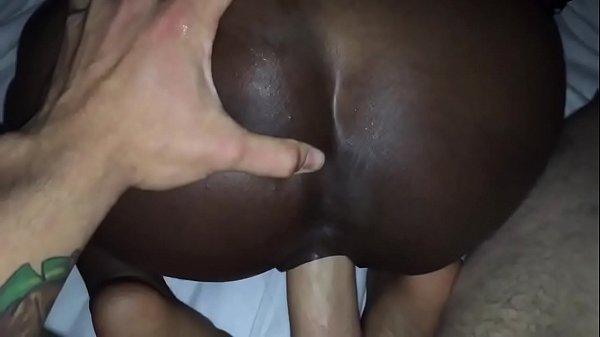 EPIC @Andregotbars POV Blowjob! Black girl Slurps on fat WHITE cock