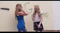 Schoolgirl Britney Ligh...