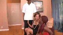 ebony mother daughter f...