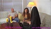 Catholic Nun fucks MILF...