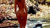 Blonde loves stripping ...