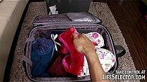 Mismatched luggage lead...