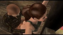 Lara Croft captured par...
