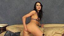 Black hair skinny anal