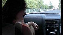 Deep blowjob in the car...