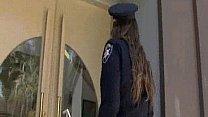 Brunette Cop Interracial