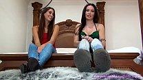 Two Gorgeous Girls Feet...