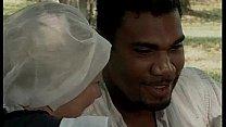 Black slave pounce on a...