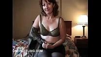 Mature woman cumming on...
