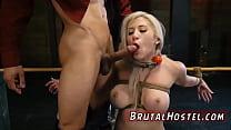 Brutal anal insertion B...