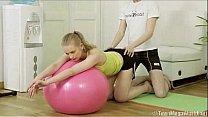 Inga likes doing sports