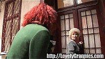 golden granny girl gets...