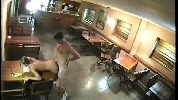 Скрытая камера в баре и ресторане порно без
