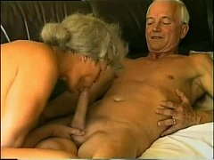 Old & Young Couple meet to fuck