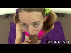 Curvaceous teen loves the taste of shlong