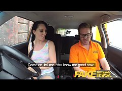 Fake Driving School Cheating learners tight pus...
