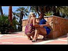 Backyard Rapture - lesbian scene...
