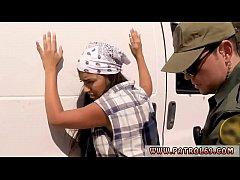 thumb real police juicy latin smuggler mercedes carrera was cautiously