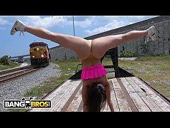 BANGBROS - PAWG Kelsi Monroe Flashes Her Big As...